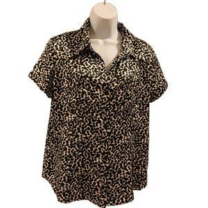 BCBG Women's button down shirt